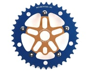 MCS Alloy Spider & Chainring Combo (39T) (Gold/Blue) | alsopurchased