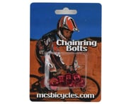 MCS Alloy Chainring Bolts (Red) | relatedproducts