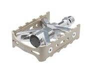 "Mks Esprit Platform Pedals (Silver) (Aluminum) (9/16"") | relatedproducts"