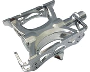 "Mks Supreme Keirin Track Pedals - Aluminum, 9/16"", Silver 