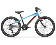 "Mondraker 2021 Leader 20"" Kids Bike (Black/Light Blue/Flame Red) 