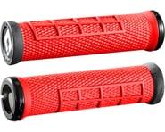 ODI Elite Flow Lock-On Grips (Burnt Red/Black) | relatedproducts