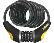 OnGuard Doberman Combo Cable Lock (Gray/Black/Yellow) (6' x 10mm) | alsopurchased