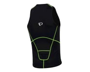Pearl Izumi Men's Select Pursuit Tri Singlet (Black/Screaming Yellow) | product-related