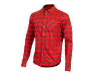 Pearl Izumi Rove Long Sleeve Shirt (Torch Red/Russet Plaid) | relatedproducts