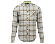 Pearl Izumi Rove Long Sleeve Shirt (Dark Olive/Fog Plaid) | product-related