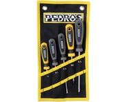 Pedro's Screwdriver Set 5-Piece Bicycle Screwdriver Set With Pouch: Black/Yellow | relatedproducts