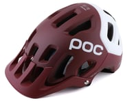 POC Tectal Race SPIN Helmet (Propylene Red/Hydrogen White Matte) | relatedproducts