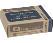 Q-Tubes Superlight 650c x 18-23mm 48mm Presta Valve Tube | relatedproducts