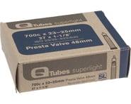 Q-Tubes Superlight 700c x 23-25mm 48mm Presta Valve Tube | relatedproducts