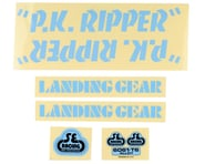SE Racing PK Ripper Decal Set (Blue) | relatedproducts