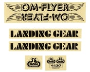 SE Racing OM Flyer Decal Set (Black) | relatedproducts