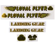 SE Racing Floval Flyer Decal Set (Gold) | relatedproducts