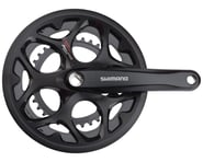Shimano Tourney FC-A070 Crankset (Black) (2 x 7/8 Speed) (Square Taper) (170mm) (50/34T) | relatedproducts