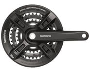 Shimano Altus M311 Crankset w/ Guard (Black) (3 x 7/8 Speed) (Square Taper) (175mm) (42/32/22T) | relatedproducts
