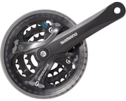 Shimano Acera FC-M361 Crankset (Black) (3 x 7/8 Speed) (Square Taper) (170mm) (42/32/22T) | relatedproducts