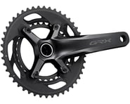 Shimano GRX FC-RX600 Crankset (Black) (2 x 10 Speed) (Hollowtech II) | relatedproducts