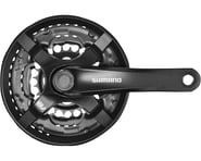 Shimano Tourney FC-TY501 Crankset (Black) (3 x 6/7/8 Speed) (Square Taper) (170mm) (48/38/28T) | relatedproducts
