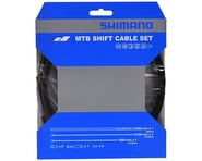 Shimano MTB Stainless Derailleur Cable and Housing Set (Black) | relatedproducts