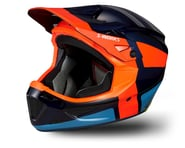 Specialized S-Works Dissident Downhill Helmet w/ ANGi (Carbon Blue/Rocket Red) | relatedproducts
