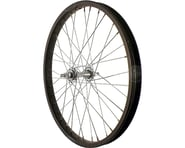 "Sta-Tru Front Wheel (Black) (20"") (Steel Rim) (Solid Axle) (36 Spokes) 