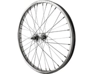 "Sta-Tru Front Wheel (Silver) (20"") (Steel Rim) (Solid Axle) (36 Spokes) 