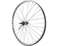 "Sta-Tru Rear Wheel (Silver) (26"") (Coaster Brake) (36 Spokes) (Steel Rim) (Bolt-On Axle) 