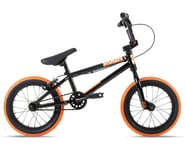 "Stolen 2021 Agent 14"" BMX Bike (14.6"" Toptube) (Black/Dark Neon Orange) | relatedproducts"
