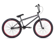 "Stolen 2021 Saint 24"" BMX Bike (21.75"" Toptube) (Matte Raw/Red) 