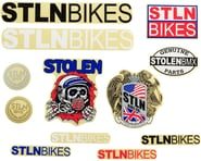 Stolen Sticker Pack: 12-piece, Assorted | alsopurchased