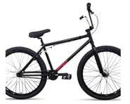 "Stranger 2021 Creeper 26"" BMX Bike (Matte Black/Chrome) 