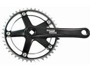 Sturmey Archer FCT66 Crankset (Black) (For Internal Gear Hubs) | relatedproducts