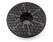 Supacaz Laser Etched Star Cap (Black/White) | alsopurchased