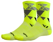 Swiftwick Vision Six Geometric Socks (Yellow) | relatedproducts