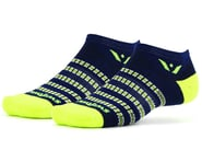 Swiftwick Aspire Zero Socks (Navy/Citron) | alsopurchased