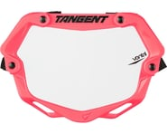 Tangent Mini Ventril 3D Number Plate - Neon Pink/White | alsopurchased