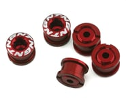 Tangent Alloy Chainring Bolts (4mm) (Red) | alsopurchased