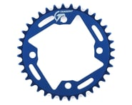 Tangent Halo 4-Bolt Chainring (Blue) | relatedproducts