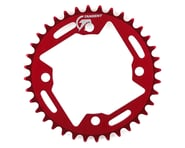 Tangent Halo 4-Bolt Chainring (Red) | product-related