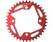 SCRATCH & DENT: Tangent Halo 4-Bolt Chainring (Red) (40T) | relatedproducts