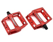 "Tangent Platform Pedals (Red) (9/16"") 