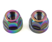 "TNT Hub Axle Nuts (Jet Fuel) (2) (3/8"") 