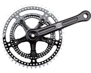 Velo Orange Grand Cru Noir Drillium Crankset (Black) (2 x 6-10 Speed) (Square Taper) (165mm) (48/34T) | relatedproducts