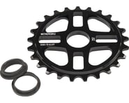 We The People 4Star Sprocket 25t Black 23.8mm Spindle Hole With Adaptors for 19m | relatedproducts