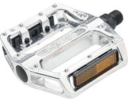"Wellgo B087 Pedals - Platform, Aluminum, 9/16"", Silver 