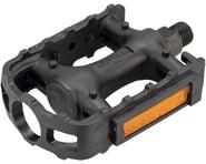 "Wellgo LU-895 Pedals - Platform, Plastic, 9/16"", Black | relatedproducts"