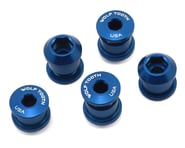 Wolf Tooth Components Dual Hex Fitting Chainring Bolts (Blue) (6mm) (5) | alsopurchased