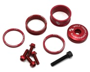 Wolf Tooth Components Headset Spacer BlingKit (Red) (3, 5, 10, 15mm) | product-related