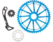 Wolf Tooth Components WolfCage Combo Pack (Blue) (49T Cog & 18T Cog) | relatedproducts