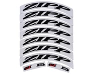 Zipp Decal Set (303 Matte Black Logo) (Complete for One Wheel) | alsopurchased